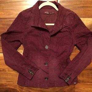Prana Corduroy Jacket Sustainably Made